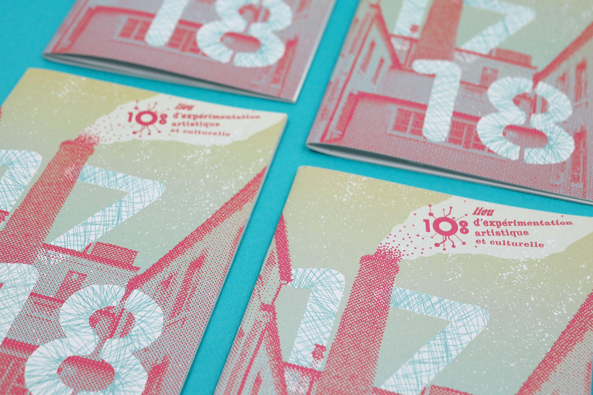 Zoom couverture du livret le 108 © Morgane Baltzer