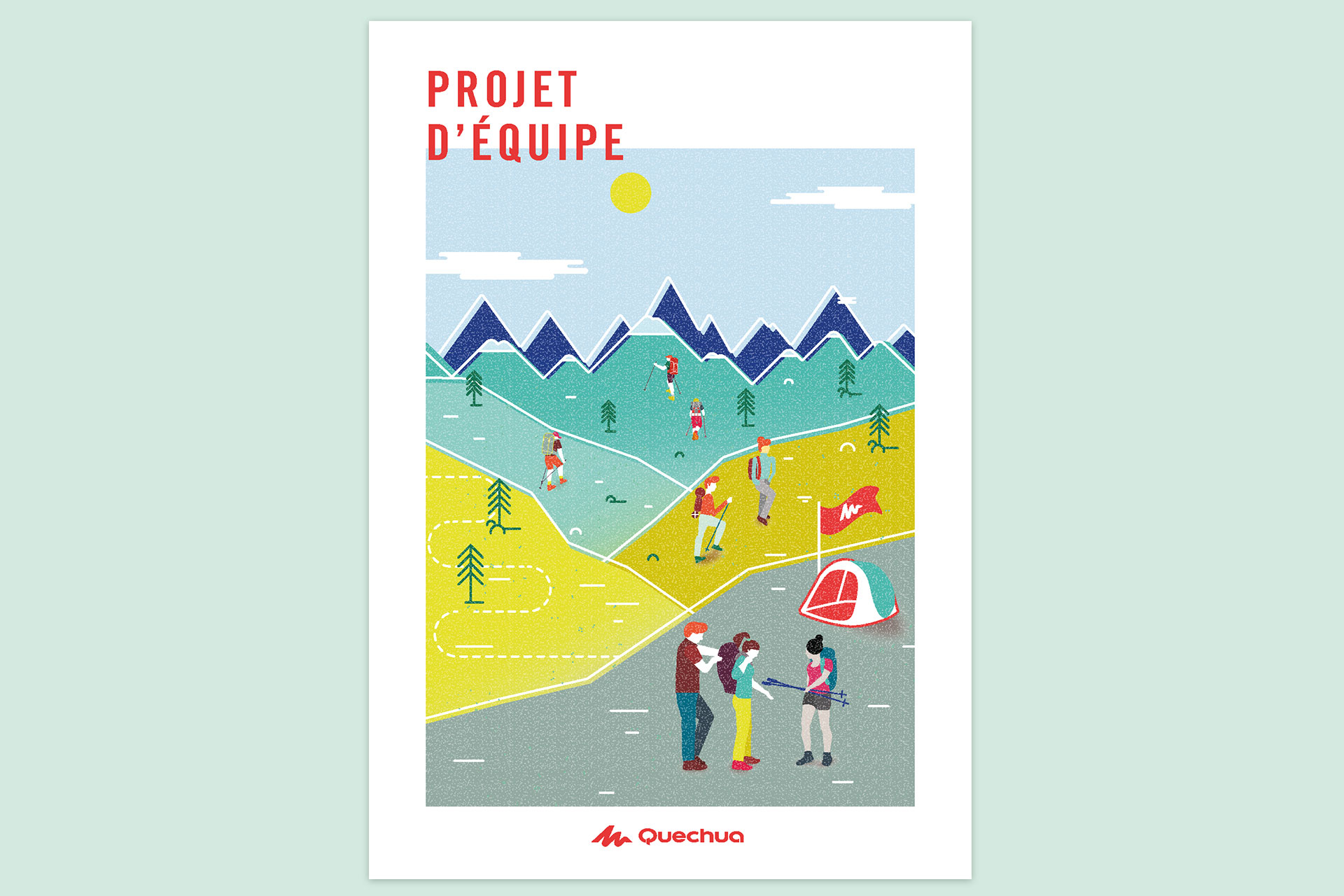 Illustration pour Quechua © Morgane Baltzer