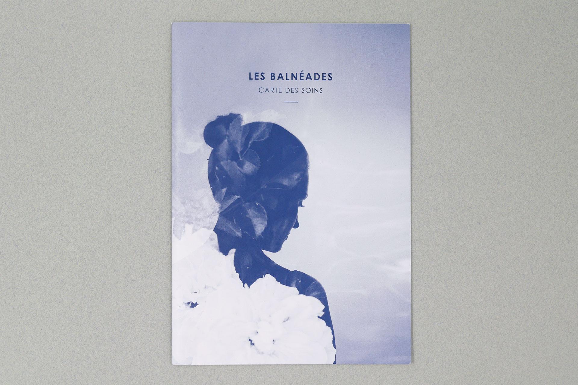 Couverture de la carte des soins Les Balnéades © Morgane Baltzer