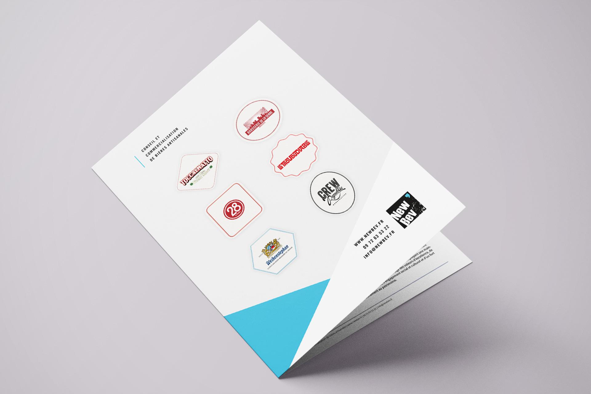 Première de couverture brochure New Bev' verso © Morgane Baltzer © Morgane Baltzer