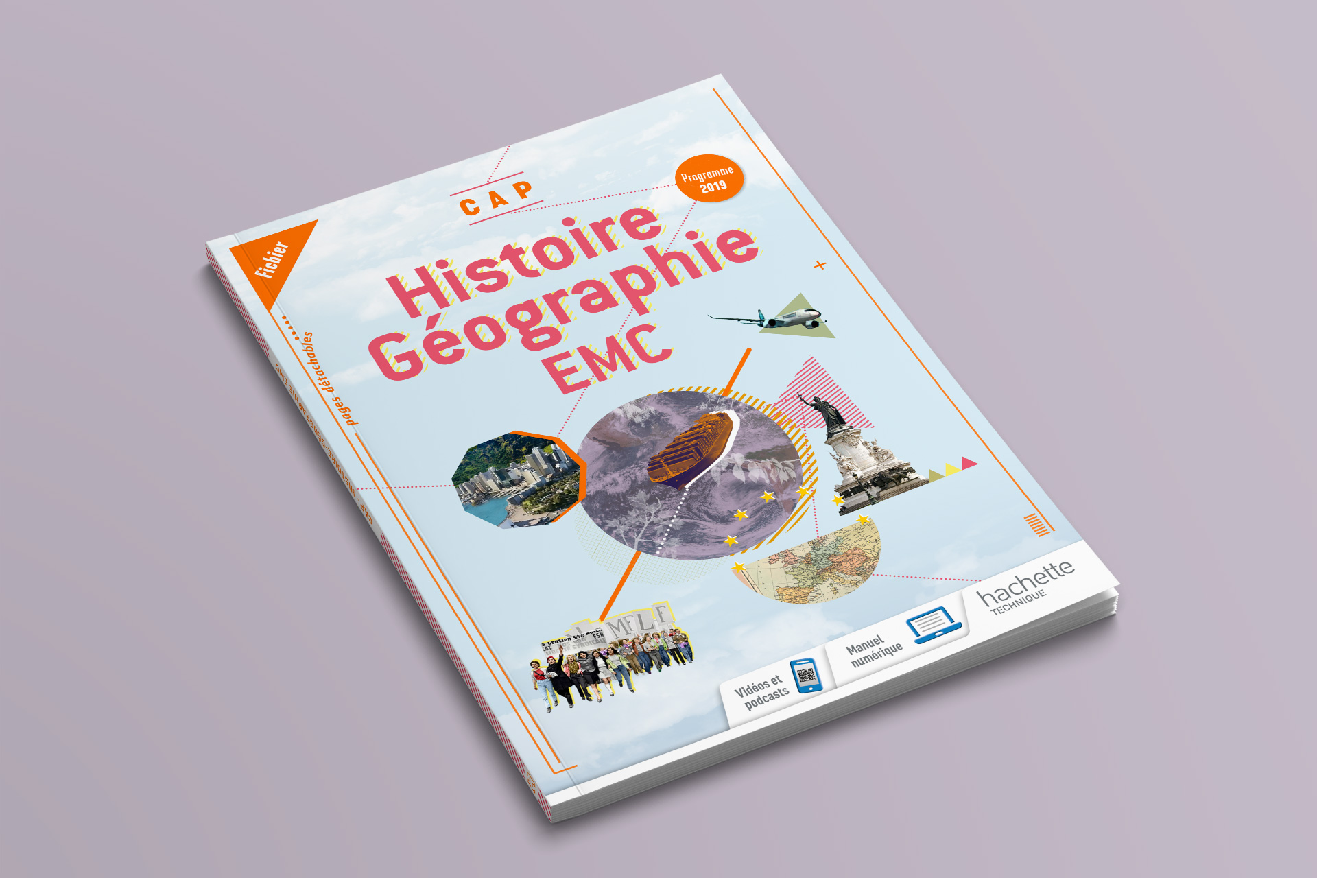 Couverture histoire-géographie Hachette © Morgane Baltzer